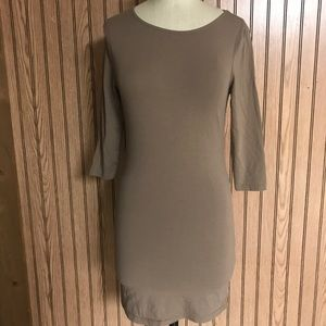 Body-con dress from Swell. Cotton and Lycra
